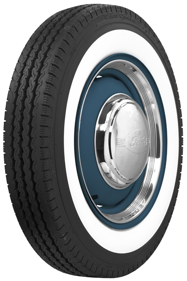 16 Cadillac white wall tires