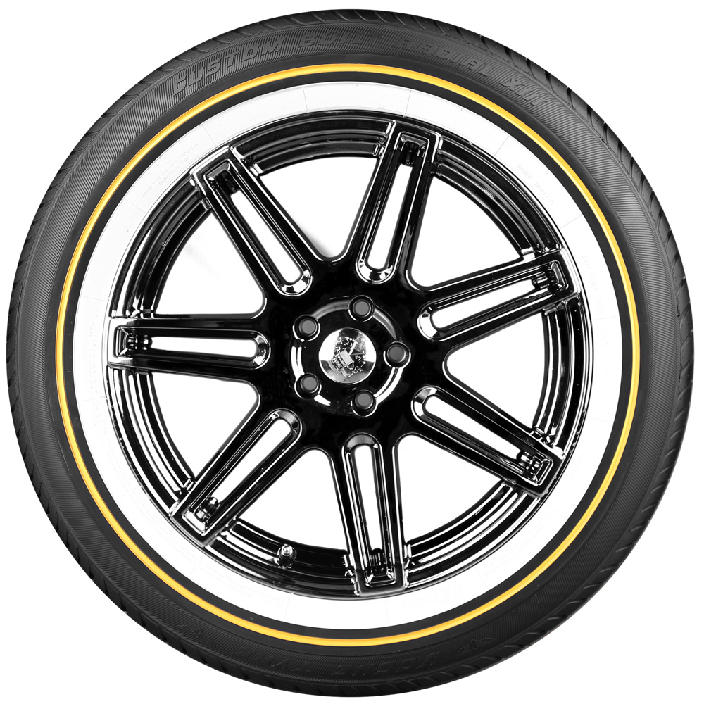 Vogue Tires | White and Gold | Free Shipping