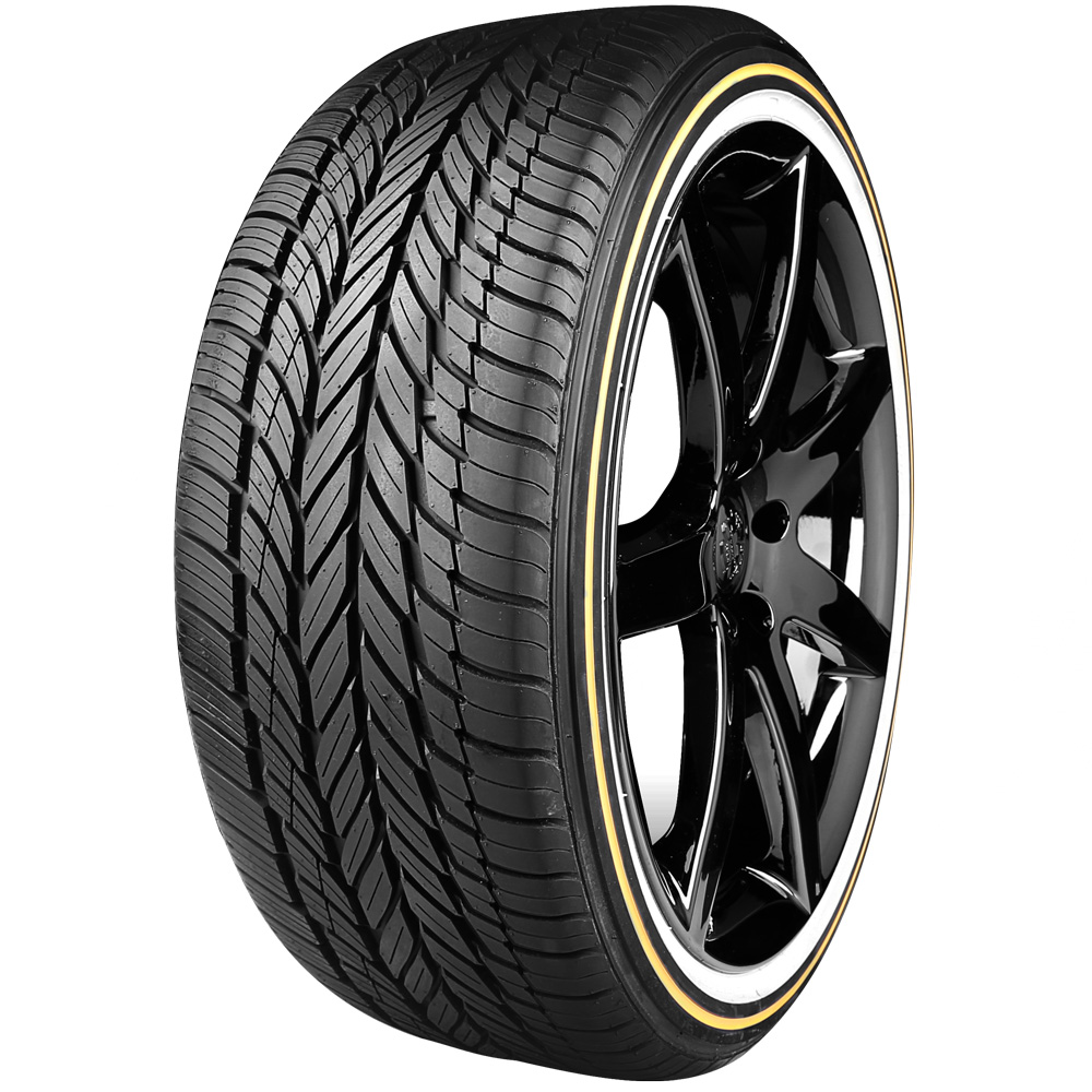 Vogue Tires   White and Gold   Free Shipping