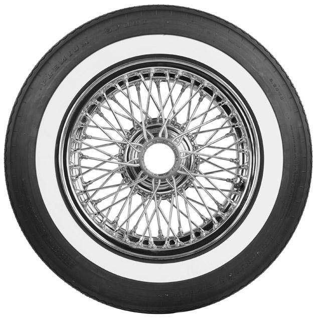 Low Rider Whitewall Tires | Premium Sport Whitewalls