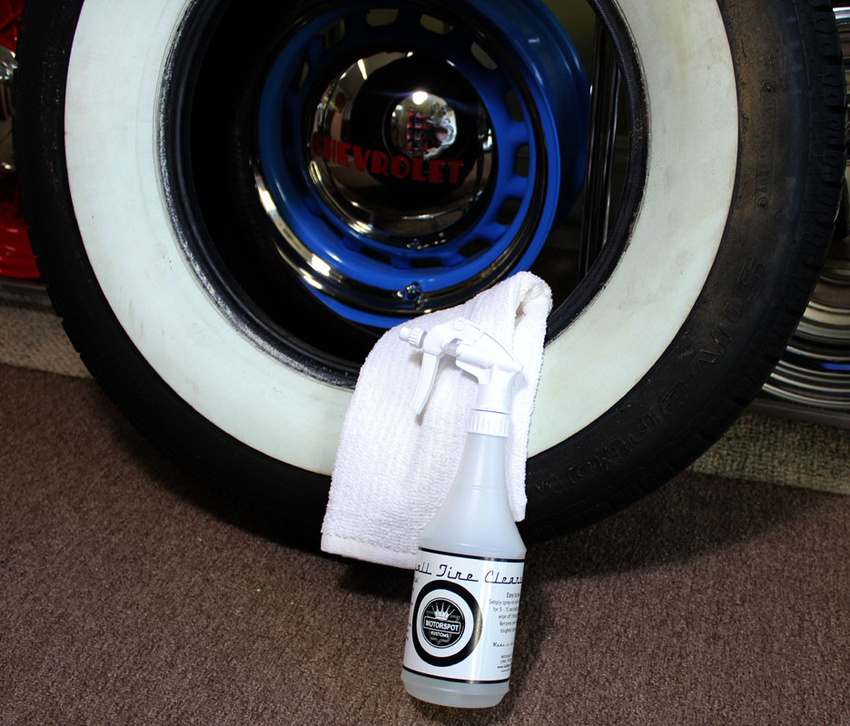 White Wall Tire Cleaner