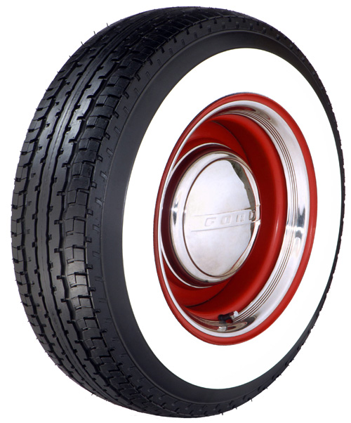 Wide Whitewall Trailer Tires