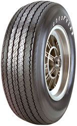 note only the word goodyear appears in solid raised white letters load capacity 1400 pounds 32 psi specifications